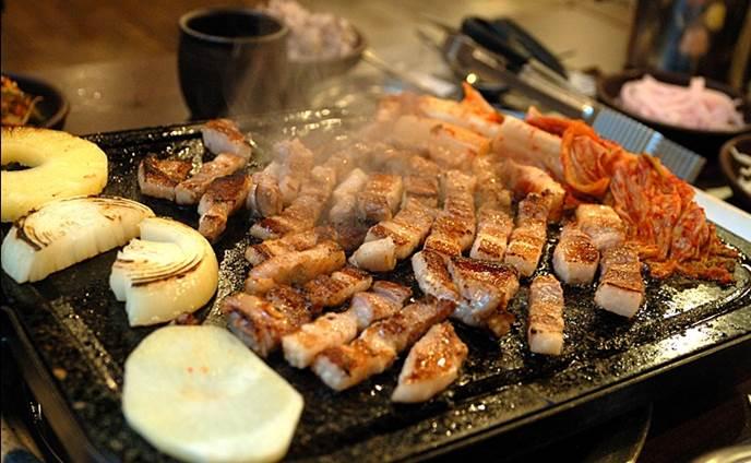 Pork BBQ 'Samgyeopsal'
