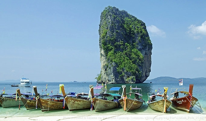4 Islands Hopping Tour (Departing from Krabi)