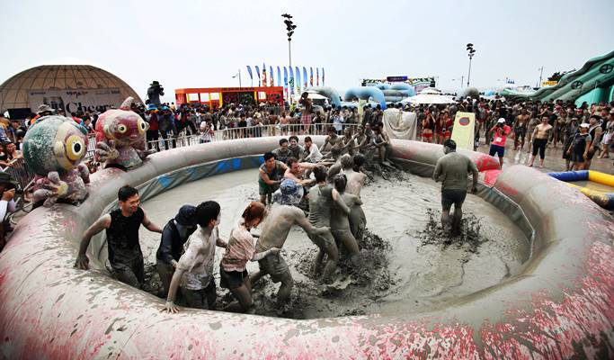2019 Boryeong Mud Festival 1 Day Tour - from Seoul/Busan (Jul 19~28)