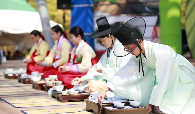 Boseong Green Tea Plantation & Naganeupseong Folk Village 1 Day Private Tour