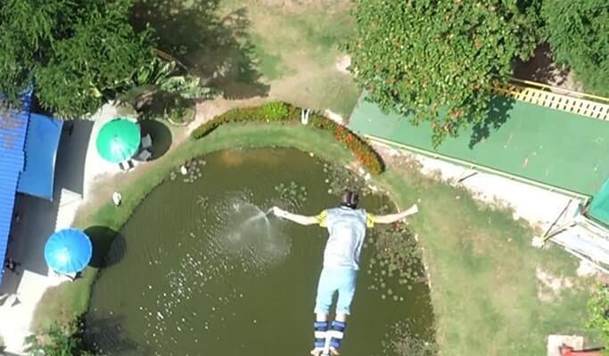 Bungee Jumping & Human Slingshot in Pattaya