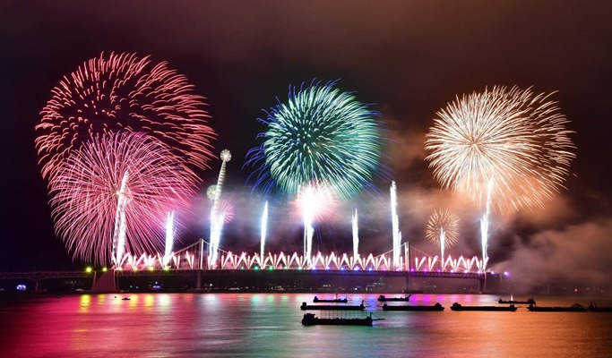 2019 Busan Fireworks Festival Ticket (Nov 2)