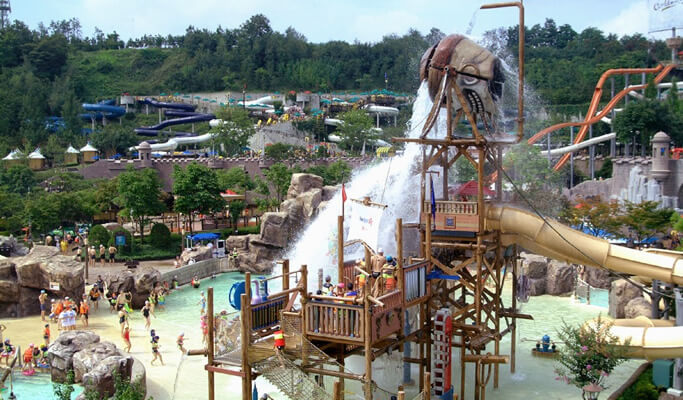 Caribbean Bay Water Park Ticket & Shuttle Bus Package