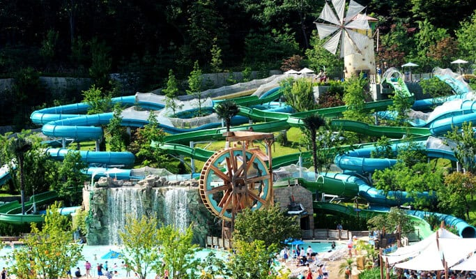 Caribbean Bay Water Park Discount Ticket & Private Van Transfer Package