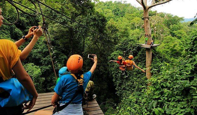 Flight of the Gibbon - Zipline Adventure from Chiang Mai