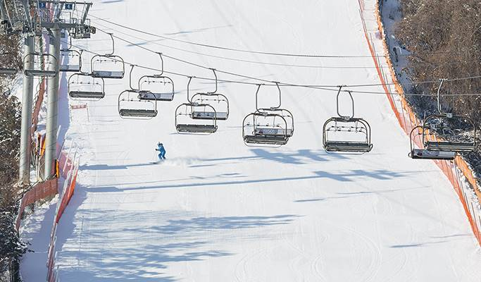 Ski/Snowboard Lift Pass + Equipment/Clothes Rental Package: Elysian Gangchon Ski Resort (+Lesson)