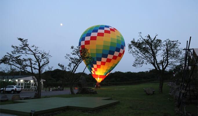 Hot Air Balloon Adventure in Jeju
