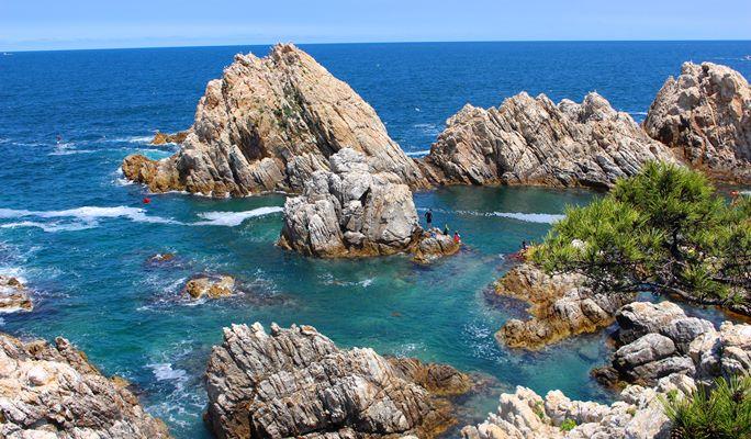 Summer Beach Fun: Crystal Clear Jangho Beach + Snorkeling 1 Day Tour