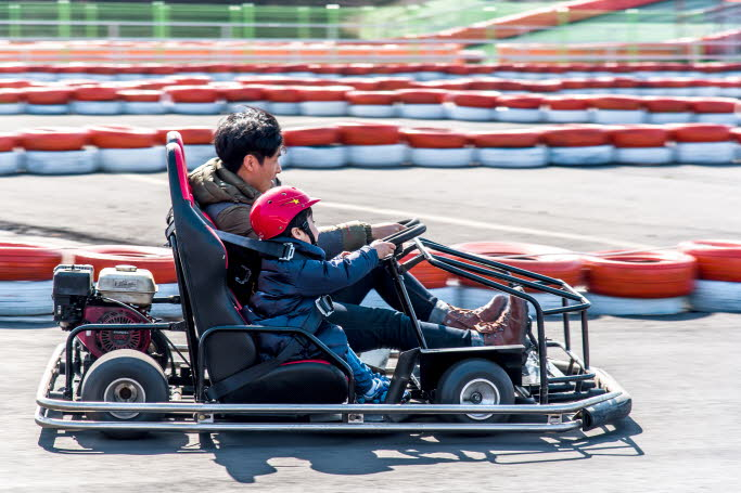 Go Karting Experience at Jeju Leports Land