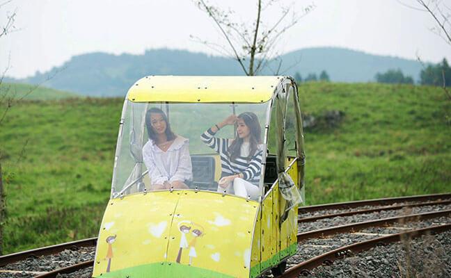 Jeju Rail Bike Discount Ticket