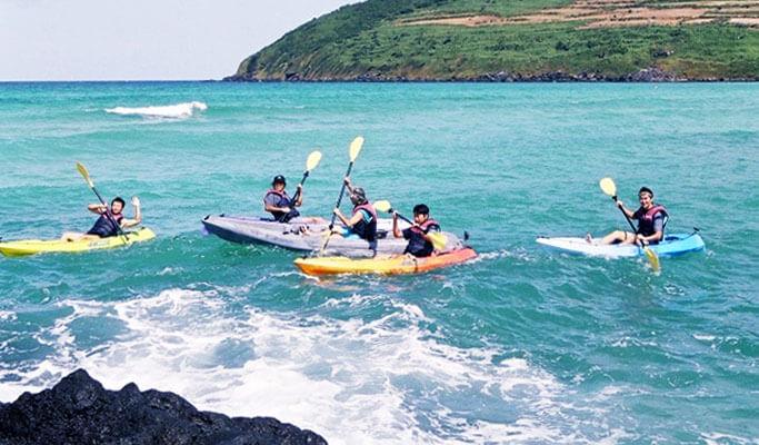 Kayaking in Hado Sea, Jeju Island