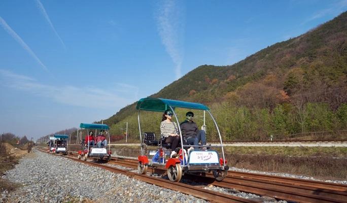 Jeonju Hanok Rail Bike Ticket
