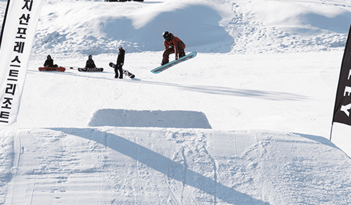 Jisan Forest Ski Resort + Everland 1 Day Tour