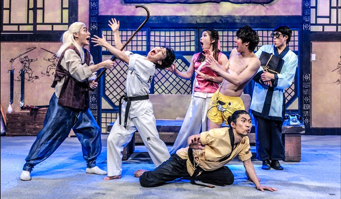 A Hilarious Mix of Comedy and Martial Arts JUMP