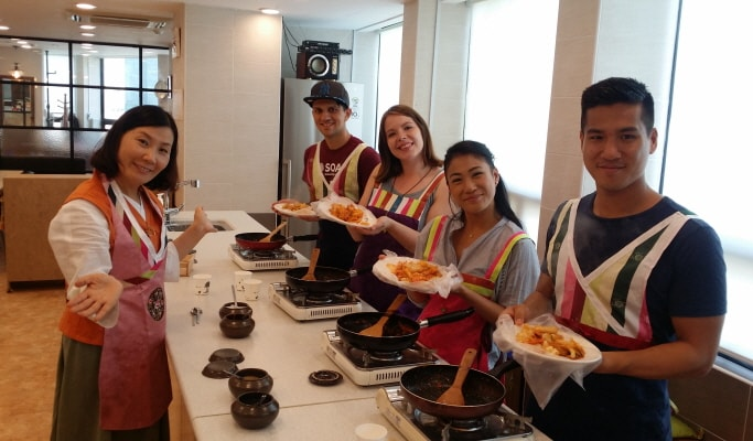 Kimchi Making & Tteokbokki Cooking Class in Myeongdong - Trazy ...