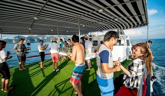 Krabi Luxury Cruise Sunset Tour