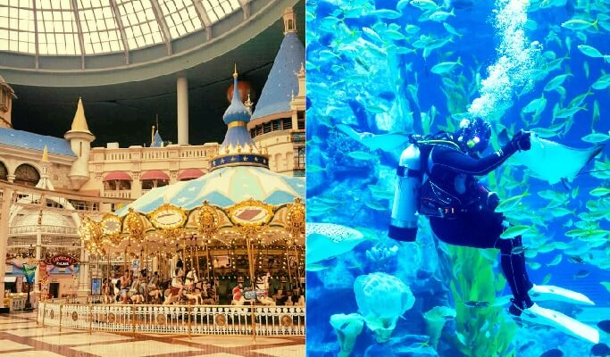 Lotte World 1 Day Pass + Lotte World Aquarium Combo Discount Ticket