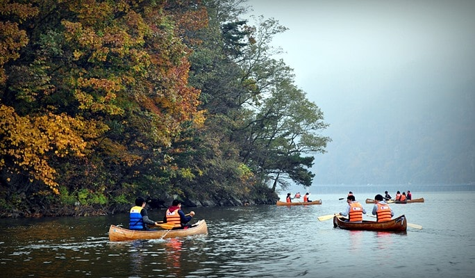 Nami Island & Chuncheon Mulle-gil Canoe 1 Day Tour