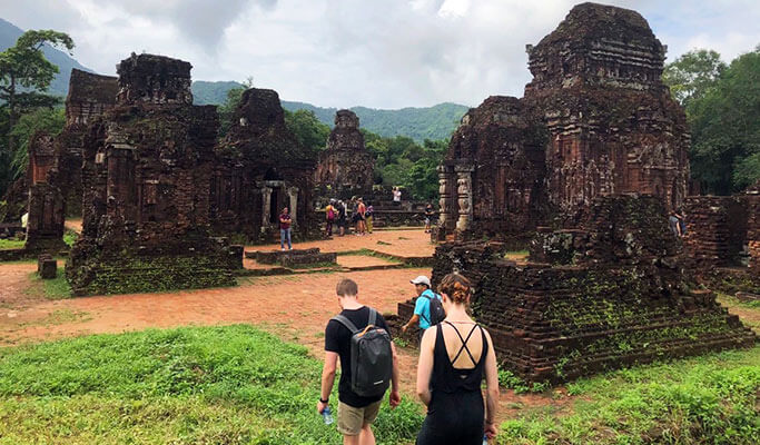 small group my son sanctuary tour from hoi an