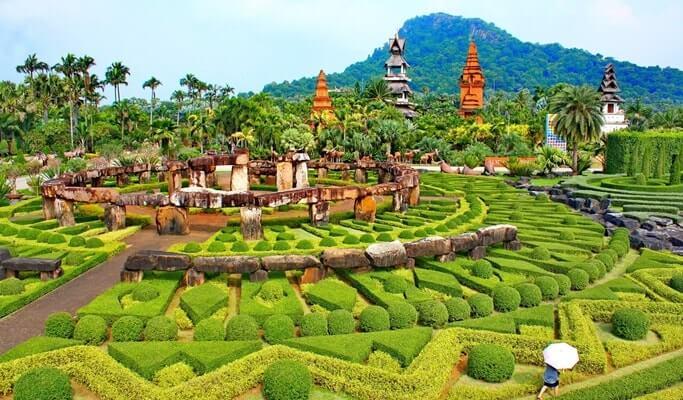 Тропический сад Нонг Нуч (Nong Nooch Tropical Garden)
