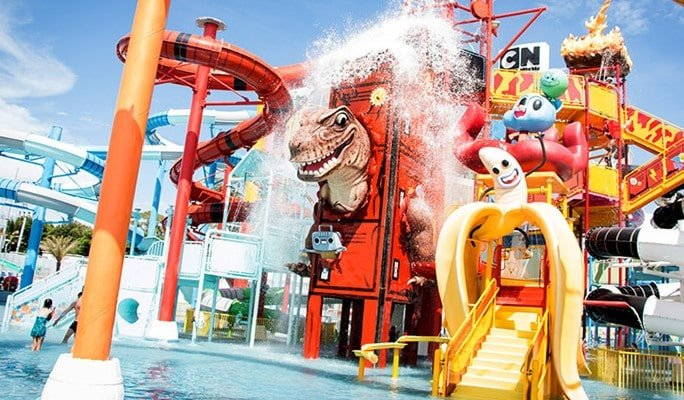 Cartoon Network Amazone Waterpark Discount Ticket (+ Transfer option)