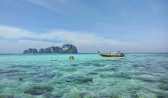 Phi Phi Islands 1 Day Join In Tour By Long Tail Boat Lunch Snorkeling From Koh Phi Phi Don Island