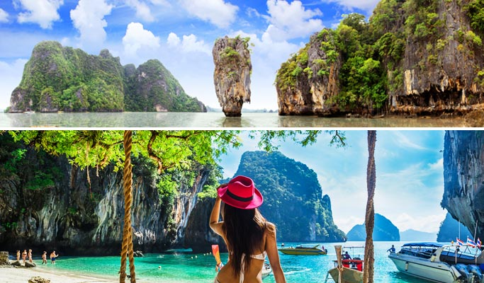 Phi Phi Islands James Bond Island 2d1n Tour By Speedboat From Phuket