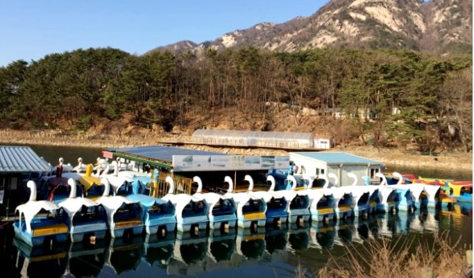 Pocheon Private Van Tour: Sanjeong Lake & Herb Island