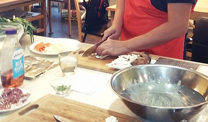 Private Korean Cooking Class + Market Tour in Seoul