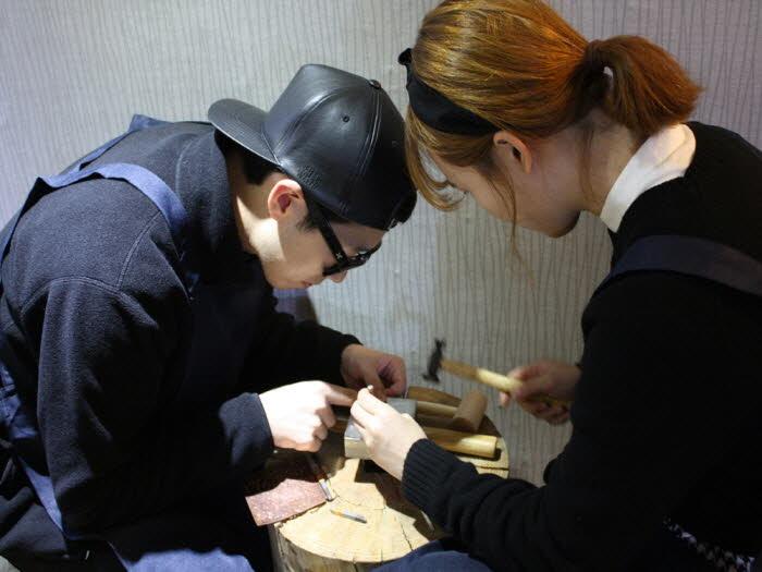 Make Your Own Custom Ring in Hongdae
