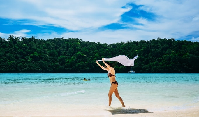 Rok Islands 1 Day Tour (Departing from Krabi)