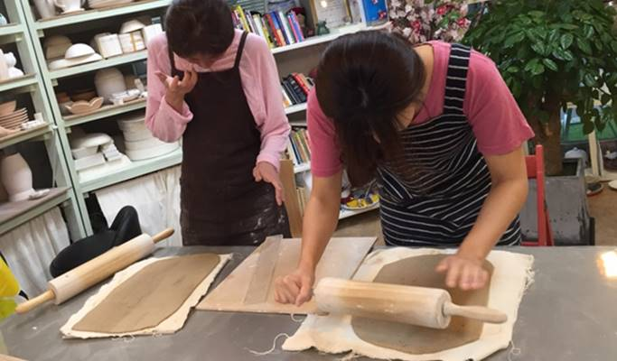 Make Your Own Pottery in Hongdae