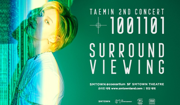 SMTOWN Surround Viewing Concert - EXO, SHINee, TVXQ!, SUPER JUNIOR, GIRLS'  GENERATION, f(x), Red Velvet, NCT 127