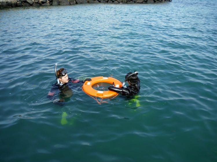 Snorkeling in Jeju Island