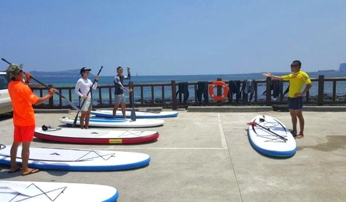 Snorkeling, Paddleboarding & Kayaking in Jeju Island