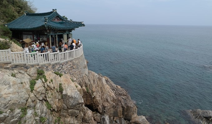 New Year Sunrise Package: Jeongdongjin Beach/Naksansa Temple (Dec 31)
