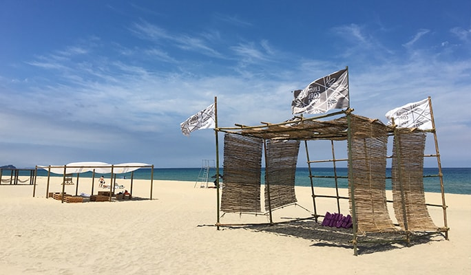 Summer Beach Fun: Go Surfing or Relax at Yangyang Private Beach