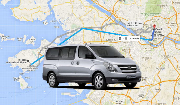 Incheon/Gimpo Airport ↔ Seoul Transfer - Airport Taxi (24/7)