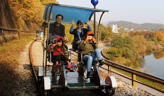 Yangpyeong Rail Bike Ticket